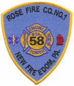Rose Fire Company New Freedom Item FF62