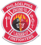 Phila Firefighters Engine 10 Ladder 11